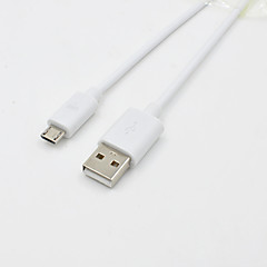 USB Male to Micro USB Male Cable Data Sync and Charging Cable for Samsung HTC Android Devices (1 M 3 Feet)