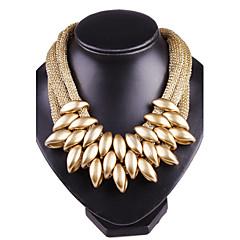 preiswerte Halsketten-Damen Statement Ketten - Silber, Golden, Regenbogen Modische Halsketten Für Party, Alltag