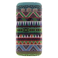 お買い得  Samsung その他の機種用ケース/カバー-のために Samsung Galaxy ケース IMD ケース バックカバー ケース ライン/ウェイブ TPU Samsung Core LTE