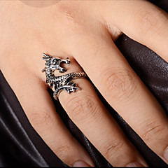 Муж. Массивные кольца бижутерия Сплав Дракон Бижутерия Назначение Для вечеринок Повседневные Новогодние подарки