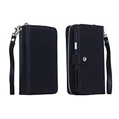 Для Samsung Galaxy Note7 Кошелек / Бумажник для карт / Магнитный Кейс для Чехол Кейс для Один цвет Искусственная кожа SamsungNote 7 /