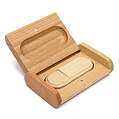 Lovely Wood Model USB 2.0 Memory Flash Drive Pen DriveU Disk Thumb Drive 16GB