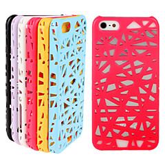 Недорогие Кейсы для iPhone 4s / 4-птичье гнездо картины шт пронзили телефон случае для iphone 4 / 4s (ассорти цветов)