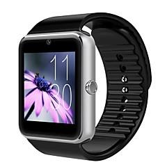 abordables Ofertas en Relojes-gt08 Wearables Bluetooth3.0 reloj inteligente / manos libres llamadas / medios de control de control / cámara / actividad perseguidor /