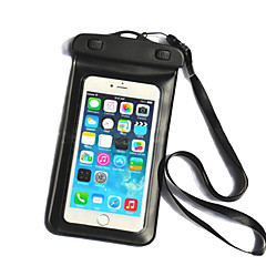 abordables Fundas para iPhone 3GS / 3G-Funda Para iPhone 6s Plus iPhone 6 Plus Universal Impermeable con Ventana Bolsa Color sólido Suave ordenador personal para