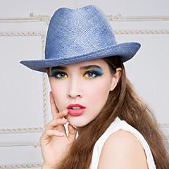 abordables Joyería para el Cabello-Celada Sombreros Casual/Al Aire Libre Cestería Mujer Casual/Al Aire Libre 1 Pieza