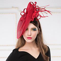 Celada Sombreros/Coronas Boda/Ocasión especial Lino Mujer Boda/Ocasión especial 1 Pieza