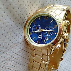 お買い得  大特価腕時計-女性用 クォーツ カレンダー 合金 バンド ぜいたく ファッション ゴールド