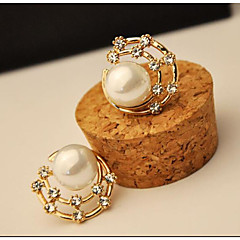 Modieus Heelal Parel imitatie Diamond Schelp Cirkelvorm Stervorm Geometrische vorm Schermkleur Sieraden Voor