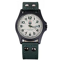 voordelige Nieuwe collectie-Soki ongedwongen quartz horloge nieuwe mannelijke mode riem leger een motie namens de student kalender vrouwelijke vorm