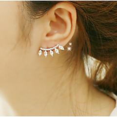 preiswerte Ohrringe-Damen Kristall Tropfen-Ohrringe - Kubikzirkonia, Diamantimitate Luxus Gold Für