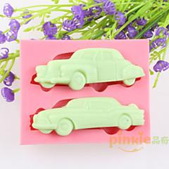 autók fondant torta csokoládé szilikon öntőforma, dekorációs szerszám bakeware