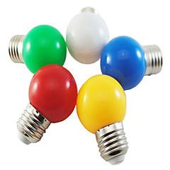 abordables Ofertas Especiales-1W 100-150 lm E26/E27 Bombillas LED de Globo G45 5 leds SMD 2835 Decorativa Blanco Natural Verde Amarillo Azul Rojo AC 220-240V