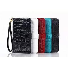 Недорогие Чехлы и кейсы для Galaxy Note Edge-Кейс для Назначение SSamsung Galaxy Samsung Galaxy Note Бумажник для карт Кошелек со стендом Флип Чехол Геометрический рисунок Кожа PU для
