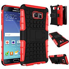 Mert Samsung Galaxy Note Ütésálló / Állvánnyal Case Hátlap Case Páncél PC Samsung Note 5 / Note 4