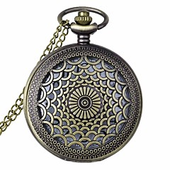 cheap Pocket Watches-Men's Women's Unisex Pocket Watch Quartz 30 m Hollow Engraving Analog