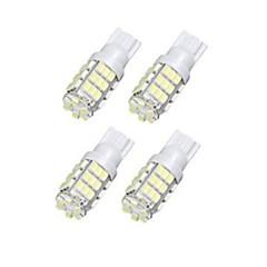 lorcoo™4本42smd T15の12Vは、921 912 906(白)ステッカー+交換用の電球を導きました