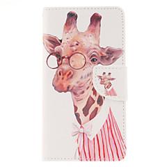 For Samsung Galaxy Note Pung / Kortholder / Med stativ / Flip Etui Heldækkende Etui Dyr Kunstlæder Samsung Note 4