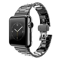 Horlogeband voor appelhorloge 42mm vervangende band met connector en open gereedschap