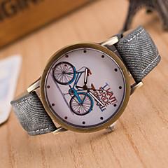 preiswerte Tolle Angebote auf Uhren-Herrn Armbanduhr Quartz Schlussverkauf / Leder Band Analog Retro Freizeit Uhr mit Wörtern Schwarz / Weiß / Blau - Grün Blau Rosa