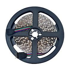 お買い得  LED ストリングライト-ストリングライト 600 LED RGB リモートコントロール カット可能 変色 ノンテープ・タイプ 車に最適 接続可 DC 12V