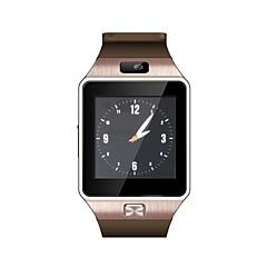hesapli -android / ios telefon bluetooth giyilebilir izlemek için dz09 akıllı izle