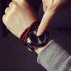 お買い得  レディース腕時計-女性用 ファッションウォッチ LED PU バンド
