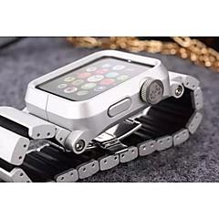 Horloge band voor appelhorloge 38mm 42mm vlinder gesp metaal horlogeband met connector