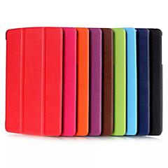 お買い得  タブレット用ケース-8.0(アソートカラー)FのLG Gパッド2 8.0 v498 / gのパッドのための8インチトリプルフォールディングパターン高品質PUレザー