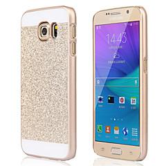 billige Galaxy S3 Etuier-Etui Til Samsung Galaxy Samsung Galaxy S7 Edge Mønster Bagcover Glitterskin PC for S7 edge S7 S6 edge plus S6 edge S6 S5 S4 S3