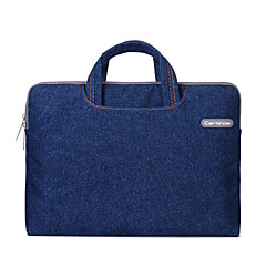 abordables Accesorios para Mac-Bolsos de Mano Un Color Textil para MacBook Pro 15 Pulgadas / MacBook Air 13 Pulgadas / MacBook Pro 13 Pulgadas