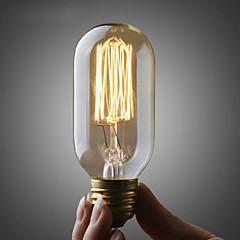 preiswerte LED & Beleuchtung-umei ™ 40w 110v oder 220v edison st45 birne / retro edison lampe filament birne / kupfer e26 e27 fühler