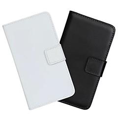 Недорогие Чехлы и кейсы для Galaxy Note Edge-Кейс для Назначение SSamsung Galaxy Samsung Galaxy Note Кошелек / Бумажник для карт / со стендом Чехол Однотонный Кожа PU для Note Edge