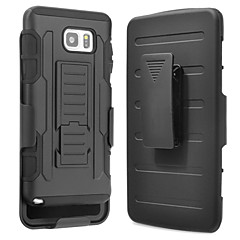 For Samsung Galaxy Note7 Stødsikker Med stativ Etui Bagcover Etui Armeret PC for Samsung Note 7 Note 5 Note 4 Note 3 Note 2