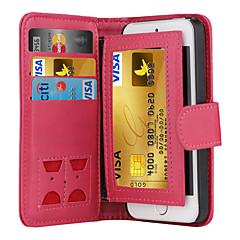 Per iPhone X iPhone 8 Custodia iPhone 5 Custodie cover A portafoglio Porta-carte di credito Con chiusura magnetica Integrale Custodia