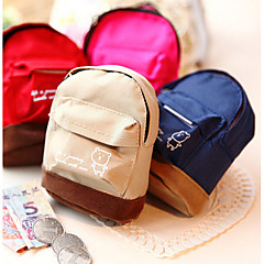 Mini School Bag Design Change Purse(Assorted Color)