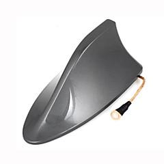abordables Cobertura para Antenas-azotea base de la aleta de tiburón diseño plástico adhesivo decorativo 16cm antena de largo para rav4 toyota
