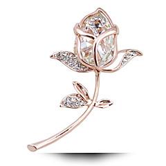hesapli -Taobao patlama adicolo kristal çiçek broş