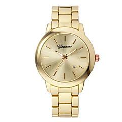 tanie Promocje zegarków-Damskie Modny Kwarcowy Chronograf Stal nierdzewna Pasmo Elegancki Czarny Srebro Złoty Różowe złoto