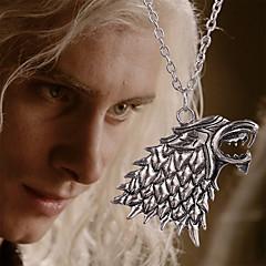 Ожерелье Ожерелья с подвесками Бижутерия Повседневные Сплав Серебряный 1шт Подарок