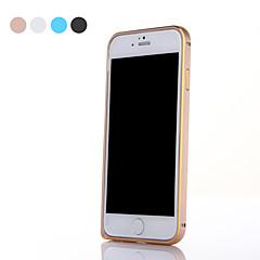 Voor iPhone 6 hoesje / iPhone 6 Plus hoesje Ultradun hoesje Bumper hoesje Effen kleur Hard Metaal iPhone 6s Plus/6 Plus / iPhone 6s/6