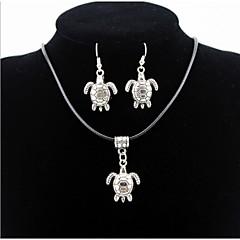 abordables Juegos de Joyería-Hombre / Mujer Conjunto de joyas Pendientes / Collare - Plata Para Diario / Casual