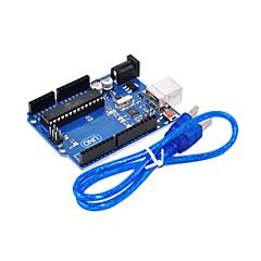 uno R3 pentru Arduino (neutru) placă de dezvoltare, cu un singur cip microcalculator pentru cablu USB