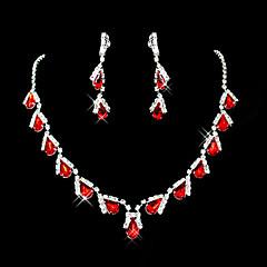 Синтетический рубин Очаровательный Для вечеринки Камни и кристаллы Синтетические драгоценные камни Цирконий Серебрянное покрытие