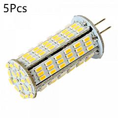 cheap LED Bulbs-YWXLIGHT® 5pcs 5W 450-500 lm G4 LED Bi-pin Lights MR11 126 leds SMD 3014 Decorative Warm White Cold White DC 24V AC 24V AC 12V DC 12V
