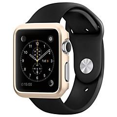 billige Apple Watch-etuier-Etui Til iWatch 42mm Apple Watch Series 3 / 2 / 1 Plast PC Apple