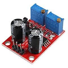 voordelige Accessoires-NE555 pulsfrequentie duty cycle verstelbare module blokgolf signaal generator stappenmotor rijden