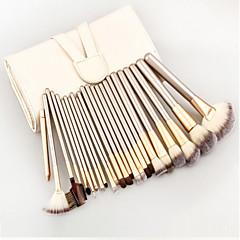24 Brush Lavastus Synteettinen tukka Ammattilaisten / Matkailu / Täysi kattavuus / Ympäristöystävällinen / Kannettava PuuKasvot / Silmä /