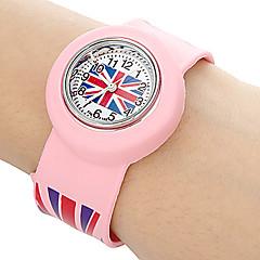 billige Tilbud på ure-Armbåndsur Plastik Bånd Slik / Mode Blåt / Grøn / Pink
