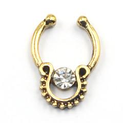 Dame Kropssmykker Næseringe & Stang Næse Piercing Rustfrit Stål Imitation Diamond Unikt design Mode Smykker Guld Sølv Rose Guld Smykker